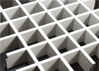 High strengh Metal Grid Ceiling / perforated suspended grid ceiling , 25mm * 440mm