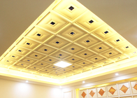Clathrate Texture Artistic Ceiling Tiles , New Style Luxury Clip in Panel