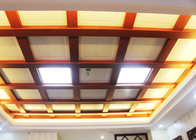Aluminum Mirror Surface Artistic Ceiling Tiles for Hotel Hall Decoration