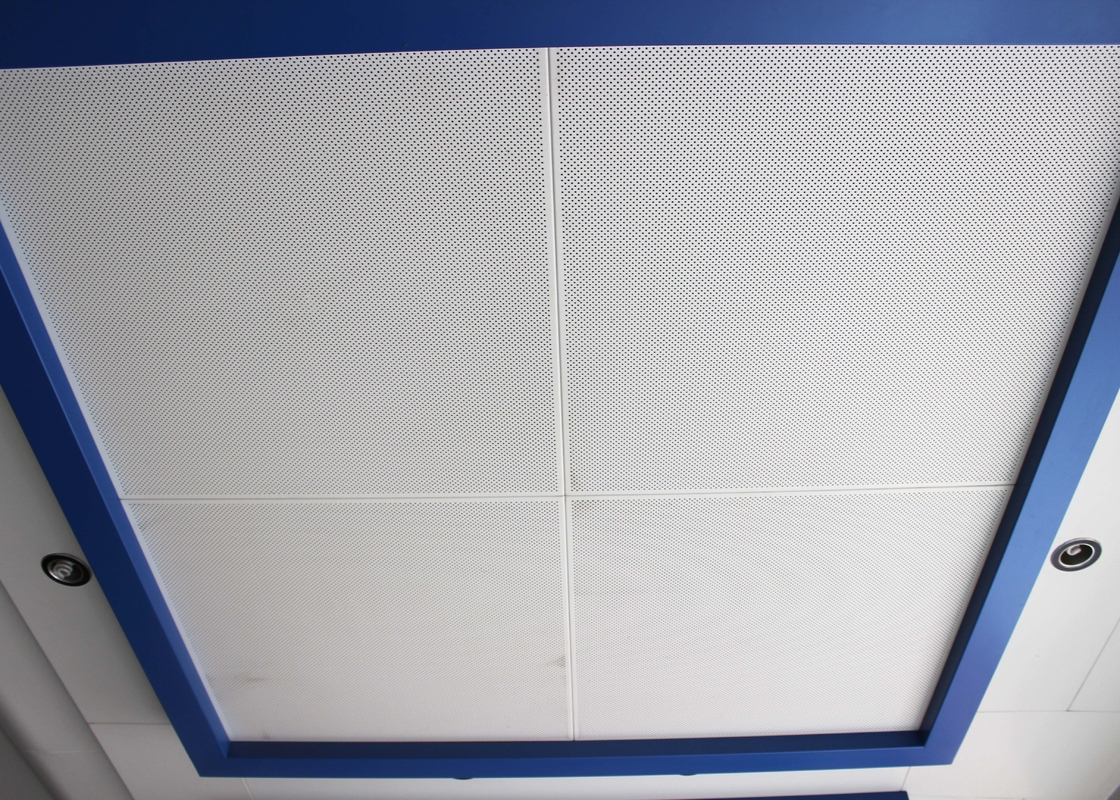 DIA 2.3 Diagonal  metal ceiling panel / 800 x 800 Square Clip in Ceiling Tiles